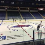 RT @riverhawknation: The @TsongasCenter new ice paint job is done! The ice will be ready for skating soon! Whos ready? #UnitedInBlue http://t.co/1CMUEnbFWD