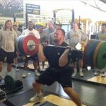 UNIs DEs weigh like 260 @EyeOnCFB: VIDEO: Iowa OT Brandon Scherff hang cleans 443 pounds x 3 http://t.co/TSV0nZj89Z http://t.co/byczvXCZbZ""