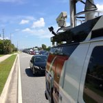 RT @ErikSandoval: #Traffic Hoffner Ave shut down due standoff w police. Making huge backups on Semoran. #local6 http://t.co/EMrZnoa6uI