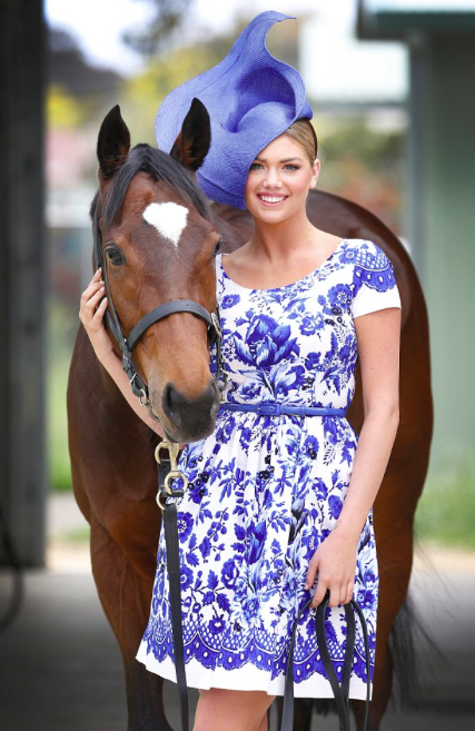 Kate Upton @kateupton: RT @BreedersCup: From #Fashion to the farm, @KateUpton, a true #Equestrian fashionista. #BCAmbassadors http://t.co/xJ05AKKtez