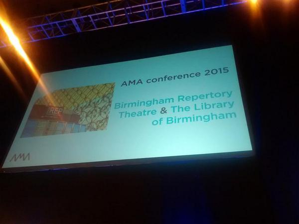 Next year's #amaconf announced - at @BirminghamRep and @LibraryofBham ! http://t.co/jNipCR9WSs