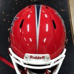 New helmet with final decal and stripe on. #AllN http://t.co/dJkJLDrRIf
