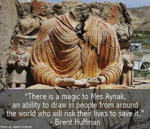 Thank you @Brent_Huffman for your dedication! http://t.co/SVGuecly1t @SavingMesAynak #MesAynak #Buddhism #archaeology http://t.co/wEC0HxhWPL