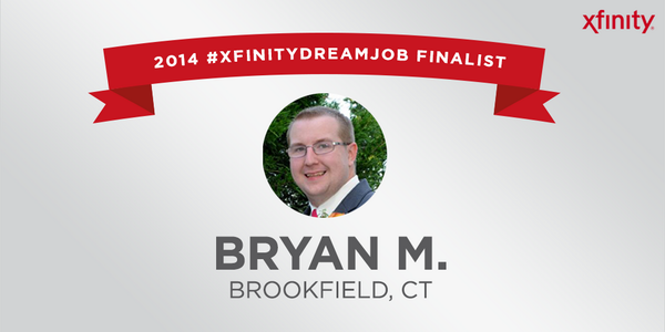 """@XFINITYSports: Are you ready for next #XFINITYDreamJob finalist? Congrats, @IAmMapes!http://t.co/5S8ryWQIYq"" Amazing honor, let's do this!"