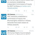 RT @IndiaBTL: Shame on Govt of India for voting against Israel on a Pak initiated @UNGeneva resolution.Sad day. Really. @AssafMoran http://t.co/Yp2JPo2w7B