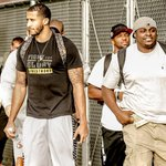RT @49ers: The #49ers have arrived for the start of training camp. #49ersCamp Photos: http://t.co/dQId8jLrHN http://t.co/g1f0QfkaoE
