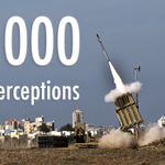 RT @IronDomeCount: Yesterday marks 1,000 rocket interceptions since the introduction of the Iron Dome in 2011. http://t.co/PKXU5F1icm