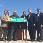 "Potts Ave. near Lambeau Field is now officially Mike McCarthy Way. McCarthy ""very humbled & honored."" http://t.co/FfaZAI3Q3b"