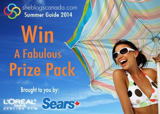 Retweet to WIN a fabulous prize pack by L'Oreal Paris & a Sears CA gift card!  http://t.co/VX6DPOeYoe  #SizzlinWIN http://t.co/0nZVrM6adm