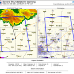 RT @NWStulsa: We issued this SvrTstm warning. Some cities in it: Pryor, Claremore and Nowata #arwx #okwx http://t.co/qxEiucW7N9