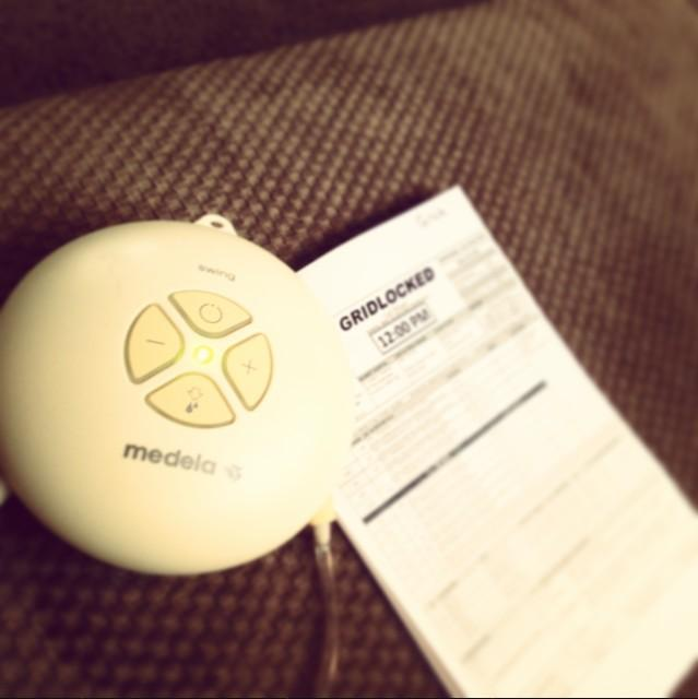 Trish Stratus @trishstratuscom: Pumped for my second day of filming @Medela_US #doubleentendre #Gridlocked http://t.co/jojaUWqeV0