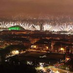 RT @vivvy28: Amazing pic of Glasgow Opening Ceremony fireworks @premierinn Pacific Quay http://t.co/IHNVIcKHFi