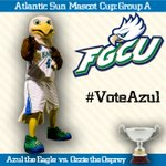 RT @AtlanticSun: And to vote for @azultheeagle in todays #ASunMascotCup Match, RT/FAV this tweet or use #VoteAzul in a tweet http://t.co/YMKAGgBO94