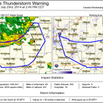 RT @NWStulsa: We issued this SvrTstm warning. Incl these cities: Fayetteville, Muskogee and Tahlequah #arwx #okwx http://t.co/7nhWuQKiVt