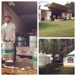 RT @BigRockBrewery: The scene is almost set for the 35th @calgaryfolkfest! We start pouring tomorrow in the beer gardens. #cfmf2014 http://t.co/L3IoRjkvLt