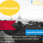 RT @SafeSpacesDC: This Saturday! #ItTakesAllofUs: a community event to end sexual violence: http://t.co/FGy9KfMEAR #lgbt #vaw #fem2 #DC http://t.co/FLAv6BYPCB