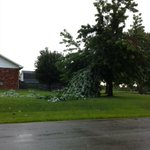 RT @brettwhitman: @ryanvaughan Damage on Elm Street in Paragould. http://t.co/uHquKDJ0xF
