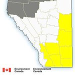 RT @GlobalCalgary: Severe thunderstorm watch issued for Alberta communities- http://t.co/kmnLlIJAs0 #YYC #YQL #abstorm http://t.co/8mAbYTSsgm