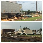 RT @GregYarbrough: Heres pics of the Damage at Ft Chaffee. #arwx #arnews http://t.co/bhVcK5GcXq