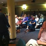 RT @kwqcnews: RT @EGoodsitt Packed chamber more than 1/2 hour from @cityofdavenport veto vote meeting. @stambrose & #Dock on agenda http://t.co/F1uFhFUH8C