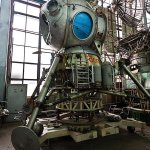 The Soviet Moon Lander built to beat the Americans to the moon. Found abandoned in a Lab in Moscow. http://t.co/0xau6UqYfq