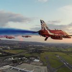 RT @RAFRed8: Job done. What beautiful views...A complete privilege! #CommonwealthGames #Reds50 http://t.co/8rJE2gtwua