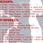 RT @PeakSgnl2Noise: Timetable for Sats #OptoPhonic workshop from @PeakSgnl2Noise @tramlines fringe - day tix: http://t.co/p3DVMqdddN http://t.co/xuqt3WyRZI