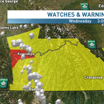 RT @JWagstaffe: T-storm watches for #BC interior..warning 4 #Kamloops. Take cover if storm hits ur area #bcstorm http://t.co/0EjjoizIlY