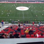 View from the press box - going to be a special night as @OttawaFuryFC entertain @RangersFC! http://t.co/vTC2yGPCWz