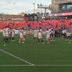 RT @OttawaFuryFC: Players are on the field warming up! Kick off is just over 30 minutes away! http://t.co/eZlvymNAPT #Ottawa