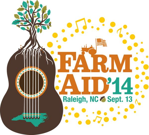 We're excited! Farm Aid 2014 will be at @WalnutCreekAmp in Raleigh, NC on Sept. 13. Details at http://t.co/oqeTcBVXQw http://t.co/JMfJ605wQo