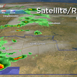 Baseball-sized hail reports in SW #SK. #skstorm update @GlobalSaskatoon NHF@10 #yxe #SkyTracker http://t.co/DSJdLbBTsI