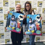 RT @LeeMeriwether: My daughter #LesleyAletter and I have arrived! #SDCC2014 http://t.co/2tAHynYw9g