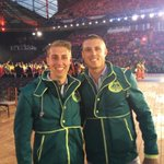 Incredible experience at the Commonwealth Games opening ceremony. Honored to march with the Australian team. #CWG2014 http://t.co/Jzgq5pqu0w