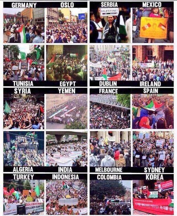 The ❤️WHOLE WORLD❤️ supports #FreePalestine #ISupportGaza #GazaUnderAttack http://t.co/nhtJouoomf