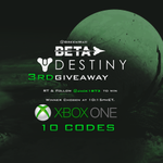 RT @GreenWaII: Surprise! Giving away 10 MORE Destiny BETA Codes! RT & Follow @Jack1873 (He provides the codes) Ends in 1hr 10:15pmET http://t.co/2G0DDk6T14