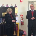 RT @alex_hamer: Childcare Minister Wendy Lovell having a great time with the playdo during the opening of a kinder reno. #ballarat http://t.co/73BnC8jqBd