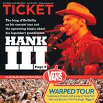 RT @wtatangelo: .@HANK_III cover of tomorrows @HeraldTribune @Ticketsarasota Heres my interview with him: http://t.co/YSpApaXmQq http://t.co/a1sF71yJUs