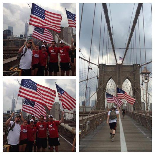 How else would you expect @TeamRWB to respond to that #BrooklynBridge nonsense yesterday?  #OldGlory #NYC #Eagles http://t.co/n65uQak7GL