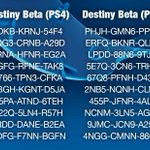 RT @PlayStation: 20 more freshly plucked Destiny Beta codes, 10 for PS4 and 10 for PS3. US only, one use per code. Hurry! http://t.co/2oPX4AWX3e