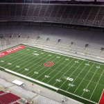 They turned the new lights on in Ohio Stadium tonight. We will have more at 11. Who is ready for BUCKEYE FOOTBALL? http://t.co/XFrlOzJshn