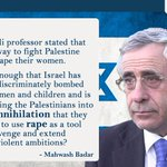 No #Israel, you cannot use #rape as a war weapon says M Badar http://t.co/G5eONqnwFN #Pakistan #Gaza #Palestine http://t.co/pFcIyFkhvg
