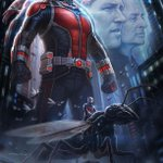 RT @lootcrate: Here's a look at @Marvel's #AntMan movie poster at #ComicCon http://t.co/VTqGdFkW6b