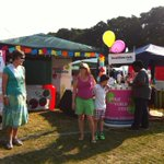 Our stand at Childrens Festival in Meyrick Park Bournemouth with @DorsetREC. Come and say Hello! http://t.co/h02YXGYr6s