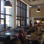 RT @DarrenMarkEvans: Coffee anyone (youre paying)? Fab new cafe as part of library redevelopment @UniOfHull http://t.co/eTbqdhbbYV