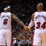 THIS JUST IN: Ray Allen leaning toward joining LeBron James and the Cleveland Cavaliers http://t.co/URMDM8WeQu http://t.co/UM9UsLapYx