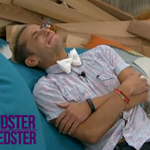 Frankie absolutely broke down after finishing most of the eulogy. #BB16 http://t.co/ph9Wahhcdk