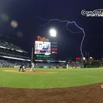 VIDEO: Mother nature lit up the sky during the @Phillies game: http://t.co/DSddX0N99i http://t.co/sQeTSpiCuM