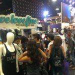 RT @welovefine: GREAT Preview Night at #SDCC - our booth at the @StarWars pavilion was PACKED! See you all for Day 1 tomorow! http://t.co/bPLZy2q2vG