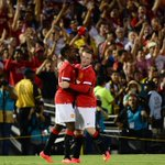RT @SportsCenter: Manchester United rolls to 7-0 win over LA Galaxy in preseason friendly. Wayne Rooney scores twice in win. http://t.co/IJtVtprvNe